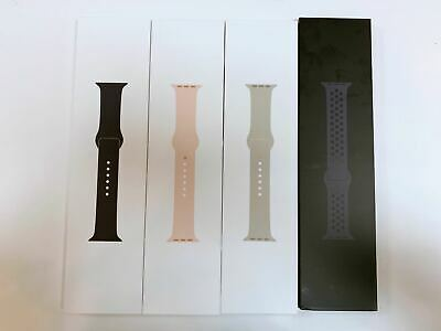 Original Apple Watch Original Wristband Sports Bands Silicone 38MM 42MM S/M M/L