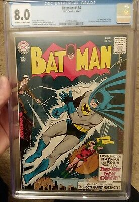 Batman #164 (Jun 1964, DC) CGC 8.0