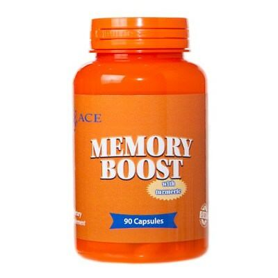 Ace Memory Boost Biotin with Alpha Lipoic Acid CoQ10 Tumeric 90 Capsules