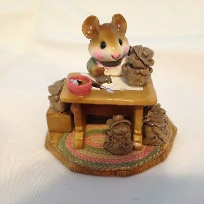 Wee Forest Folk M-184 Mrs. Mousey's Studio