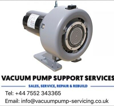 Dry Scroll Vacuum Pump-Varian Triscroll- 2 stage- Edwards Xds-£1495.00 -25m3/hr
