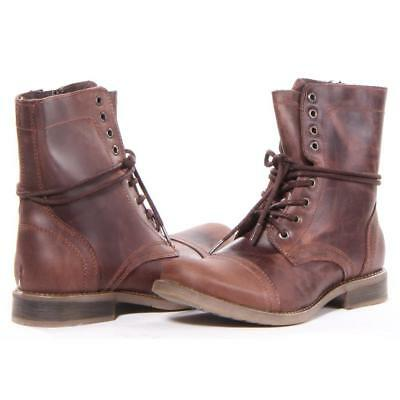 e2482c52473 STEVE MADDEN SHOES Troopah-C Boots Men Brown New -  103.99