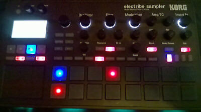 Korg Electribe 2S Sampler Drum Machine Synthesizer