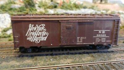 Athearn HO Vintage 40' Lithographed Steel Side Boxcar, New Haven, K-ds Exc.