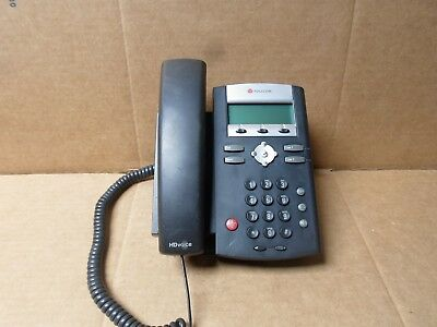 Polycom SoundPoint IP 335 Telephones With handset