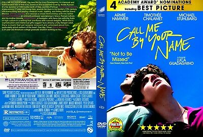 Call Me by Your Name (DVD, 2018)