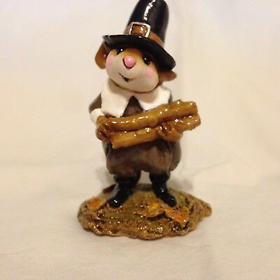 Wee Forest Folk M-198 Pilgrim's Welcome