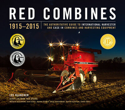 Red Combines 1915-2017 Mc Cormick Deering, International, Case, Case-Ih Book