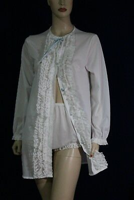 MISS ELAINE VINTAGE sissy BABYDOLL SET NIGHTGOWN WITH MATCHING PANTIES. ADORABLE