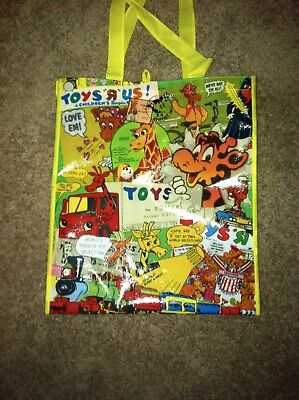 Toys r us reusable bag with vintage picture
