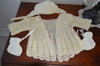Vintage New Born Baby Clothes