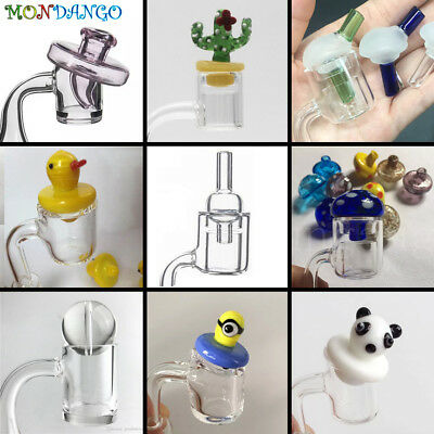 Carb Cap Quartz Bangers UFO Hat Bubble Dome Mushroom Ball Rotational Style