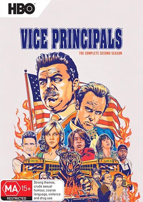 Vice Principals - Season 2 (2018) (DVD) (Region 4) New Release