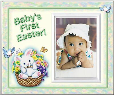 Baby's First Easter - green - Picture Frame Gift