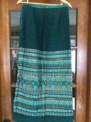 Women's Latin America, Guatemalan Skirt. Midi/ Long. Beautiful. Waist 28""