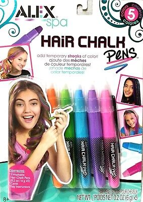 ALEX Spa Hair Chalk Pens Make Your Hair As Vibrant As You Are 238W New