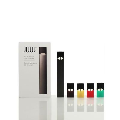 New Juul-Device + Charger - Starter Kit With 4 Flavor Pods Ships Tomorrow!