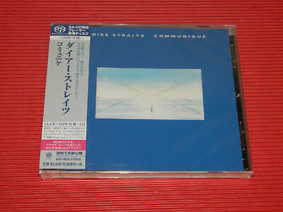 2014 Jewel Case Dire Straits Communique   Japan Shm Sacd