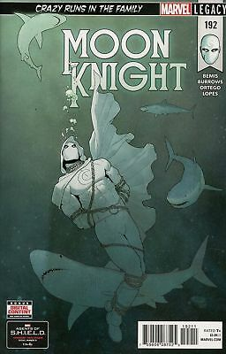Moon Knight #192 Legacy Marvel Comics Near Mint/mint 2/28/18
