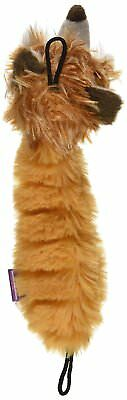 Multipet Bouncy Burrow Buddies Babies Fox Small Dog Toy, 8""
