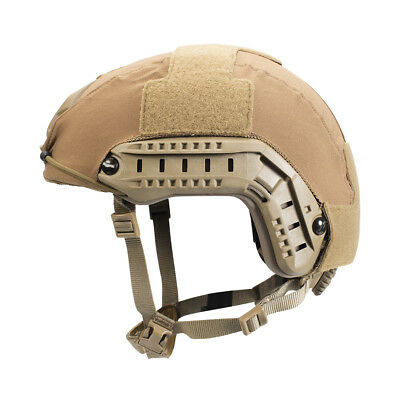 First Spear Ops-Core FAST Helmet Cover, Coyote Tan, Size M/L