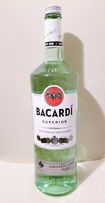 Bacardi superior 3 liter Collectors Liquor! AT Discounted Price!