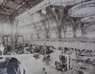 1893 World's Columbian Exposition Photo~ Electrical Building