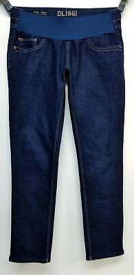 DL1961 4 Way Stretch Premium Low Panel Skinny Maternity Jeans Size 29
