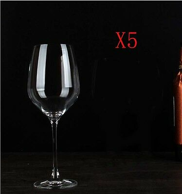 New 5X Capacity 670ML Height 270MM High Foot Large Red Wine Glass/Glassware %