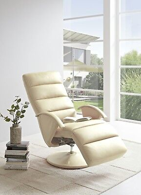 Relaxsessel BECO TV Sessel Fernsehsessel Ruhesessel Creme / Beige - Ton 13162