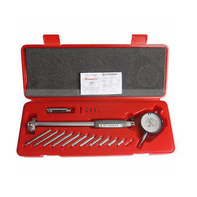Dial Bore Gauge 50-160MM Diameter Indicator Measuring Engine Cylinder 0.0 Gift