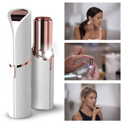 2018 New Flawless Skin Women Painless Hair Remover Face Facial Finishing Touch
