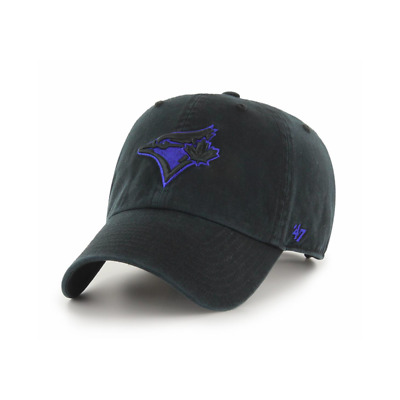 '47 MLB Toronto Blue Jays Black Clean Up Adjustable Cap