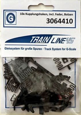 Train Line 45 Kupplungs Set Each 10 Hooks, Pin and Spring no. 3064410
