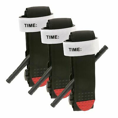 3 pcs Tourniquet Rapid One Hand Application Emergency Outdoor First Aid Kit