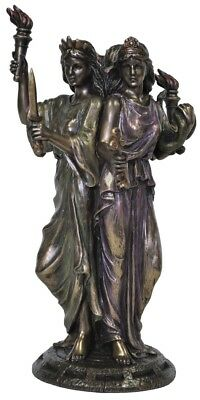 Hekate Hecate Veronese Bronze Statue Figurine Goddess Wiccan Witchcraft Occult