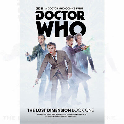 Doctor Who: The Lost Dimension Vol. 1 Collection Book By George Mann