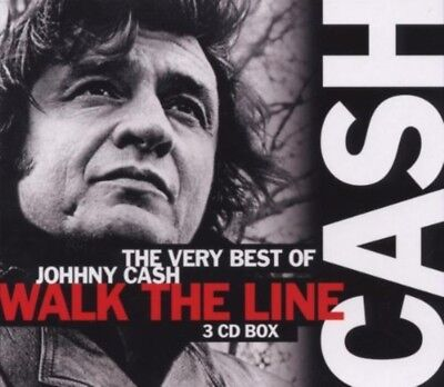 Johnny Cash - The Very Best Of 3Cd Neu & Ovp Walk The Line Greatest Hits