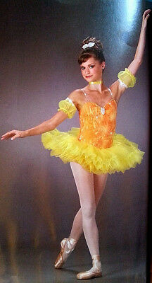 New Flame Phoenix Ballet Tutu Dance Costume Adult Sizes