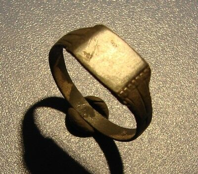 Ancient SILVER ring. Middle Ages. Original