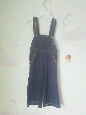 VINTAGE  Baby Overalls Carters sz 3t Rainbow Bell Bottoms Toddlers