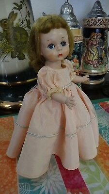 Madame Alexander-kin Wendy Kin doll OUTFIT ONLY Rare Peach Bridesmaid Gown (1438