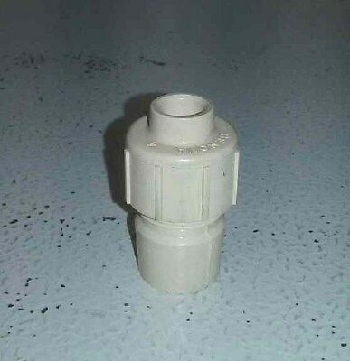 """3/8 Compression x 1/2"""" CPVC Slip fitting - NEW! NEVER USED!"""