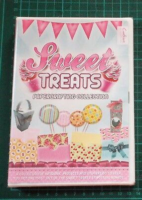 Crafters Companion SWEET TREATS CD-ROM Papercraft Collection NEU/OVP