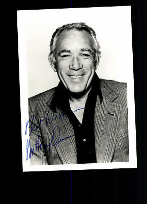 Anthony Quinn Autogrammkarte TOP ## BC G 19623 D