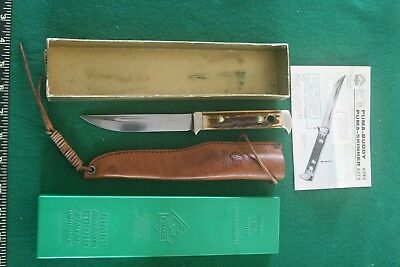 "Puma ""Buddy"" 6383 Vintage Knife "" new in box"""