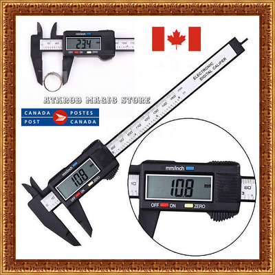 Digital Electronic Gauge Hard Plastic Vernier Caliper 150mm 6inch Micrometer