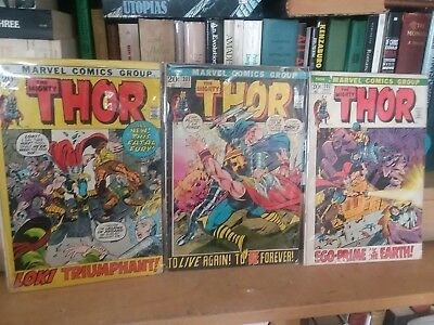 THOR comic book lot - bronze age - 28 issues