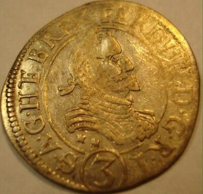 1625AD medieval coin in good condition