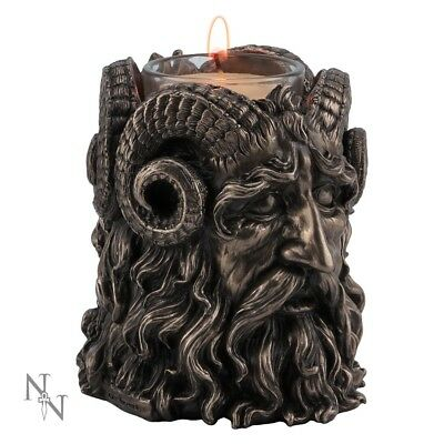Horned God Tea Light Holder